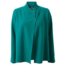 Buy East Boiled Wool Short Coatigan, Jade Online at johnlewis.com