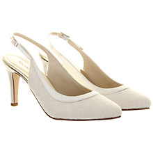 Buy Rainbow Club Melissa Lace Court Shoes, Ivory Online at johnlewis.com