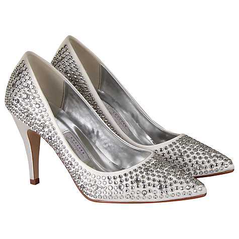 Buy Rainbow Club Antonia Court Shoes, Ivory Online at johnlewis.com