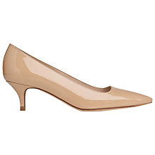Buy L.K. Bennett Minu Leather Court Shoes Online at johnlewis.com