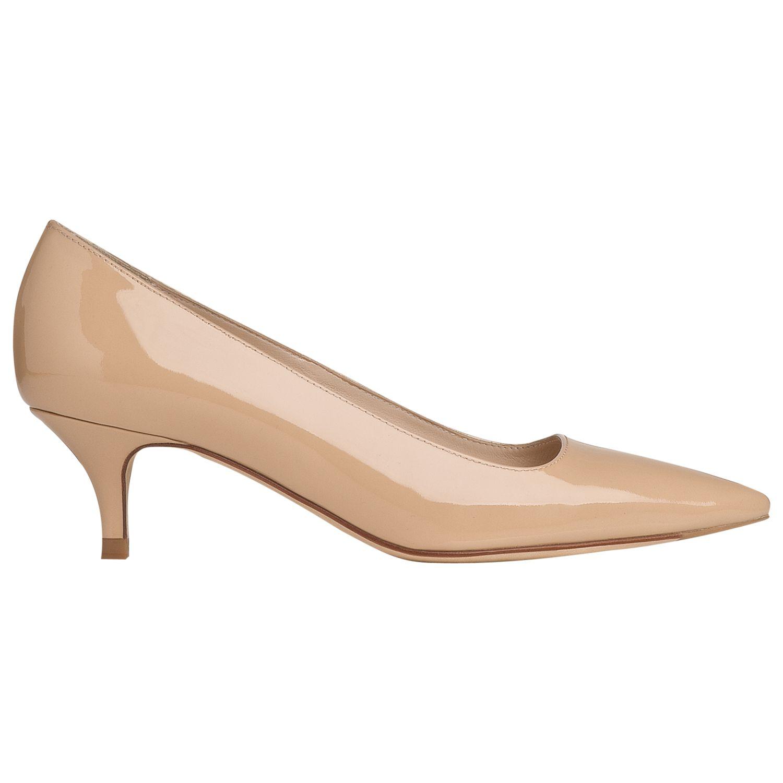 L.k. Bennett Minu Court Shoes, Taupe Patent
