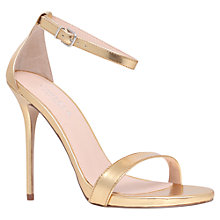 Buy Carvela Glacier Ankle Strap Statement Stiletto Sandals Online at johnlewis.com