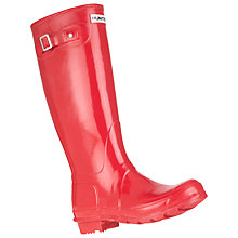 Buy Hunter Women's Original Adjustable Knee High Wellington Boots Online at johnlewis.com