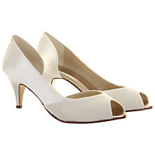Buy Rainbow Club Lydia Lace Court Shoes, Ivory Online at johnlewis.com