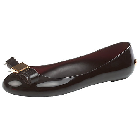 Buy Ted Baker Esinta Ballerinas, Black Online at johnlewis.com