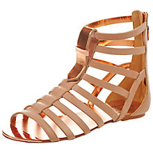 Buy Ted Baker Fiachu Leather Gladiator Sandals Online at johnlewis.com
