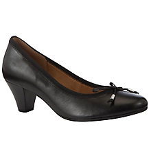 Buy Gabor Melton Leather Court Shoes Online at johnlewis.com