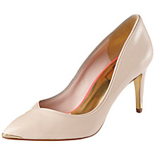 Buy Ted Baker Mitila Leather Court Shoes Online at johnlewis.com