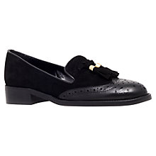 Buy Carvela Louis Tasseled Brogue Loafers, Black Online at johnlewis.com