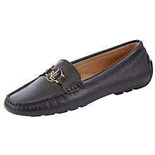 Buy Lauren by Ralph Lauren Carley Monogrammed Loafers Online at johnlewis.com