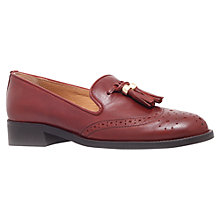 Buy Carvela Louis Tasseled Brogue Loafers, Brown Online at johnlewis.com