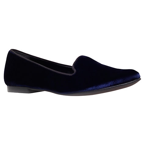 Buy KG by Kurt Geiger Lexie Loafers, Navy Online at johnlewis.com