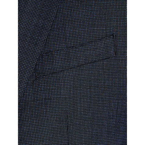 Buy Ben Sherman Tailoring Kings Fit Geo Wool Suit Jacket, Navy Online at johnlewis.com