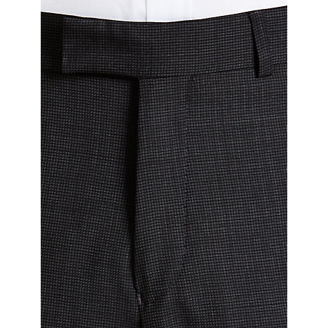 Buy Ben Sherman Tailoring Kings Fit Geo Wool Suit Trousers, Grey Online at johnlewis.com