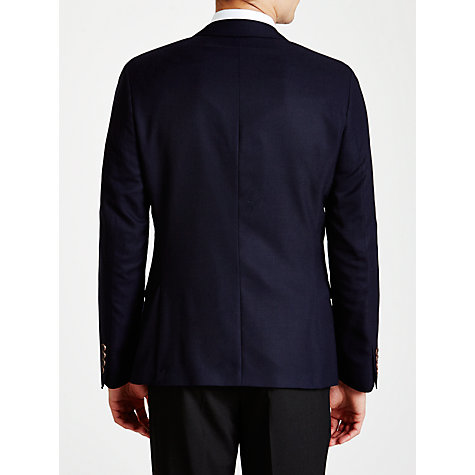 Buy Ben Sherman Tailoring Camden Fit Basketweave Suit Jacket, Navy Online at johnlewis.com