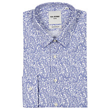 Buy Ben Sherman Tailoring Paisley Shirt, Blue/White Online at johnlewis.com