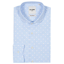 Buy Ben Sherman Tailoring Pinwheel Print Shirt, Pale Blue Online at johnlewis.com
