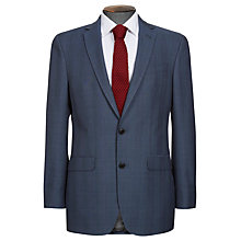 Buy Ben Sherman Tailoring Glencheck Blazer, Blue Online at johnlewis.com