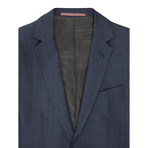 Buy Ben Sherman Glencheck Blazer, Blue Online at johnlewis.com
