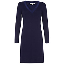 Buy Damsel in a dress Cedar Dress, Navy Online at johnlewis.com