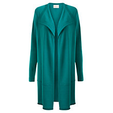Buy East Merino Longline Cardigan, Jade Online at johnlewis.com