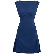 Buy Almari Gathered Hem Dress, Blue Online at johnlewis.com