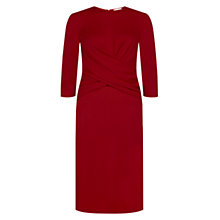 Buy Hobbs Lulu Dress, Fire Red Online at johnlewis.com