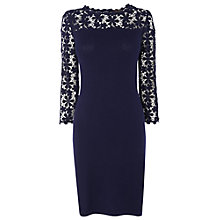 Buy Phase Eight Suzy Lace Dress, Navy Online at johnlewis.com