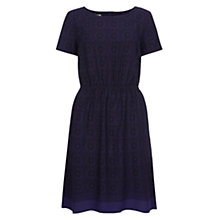 Buy NW3 by Hobbs Kaleidoscopic Dress, Bluebell Online at johnlewis.com