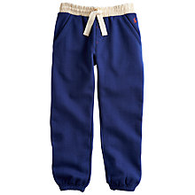 Buy Little Joule Boys' Howson Jogging Bottoms, Navy Online at johnlewis.com
