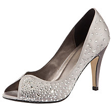 Buy John Lewis Occasion Dream Court Shoes, Silver Online at johnlewis.com
