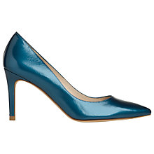 Buy L.K. Bennett Florete Chisel Toe Court Shoes, Royal Blue Online at johnlewis.com
