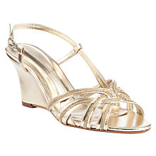 Buy John Lewis Occasion Disco Wedge Heel Sandals Online at johnlewis.com