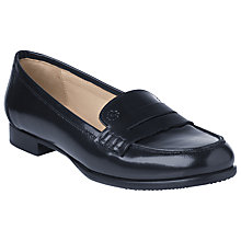 Buy L.K. Bennett Vera High Shine Loafers, Ink Online at johnlewis.com