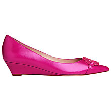 Buy L.K. Bennett Taylor Kitten Wedged Court Shoes Online at johnlewis.com