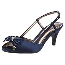 Buy John Lewis Occasion Sinway Satin Topline Strap Sandals Online at johnlewis.com
