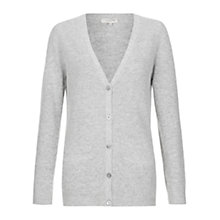 Buy Hobbs Mairead Cardigan, Melange Grey Online at johnlewis.com