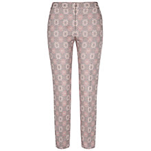 Buy NW3 by Hobbs Needlework Trousers, Mouse Grey Online at johnlewis.com