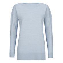 Buy Hobbs Suki Jumper, Powder Blue Online at johnlewis.com