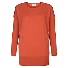 Buy Hobbs Gwen Jumper, Coral Online at johnlewis.com