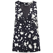 Buy Whistles Eva Firebust Top, Multi Online at johnlewis.com