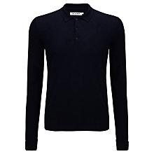 Buy Ben Sherman Plain Long Sleeve Polo Shirt Online at johnlewis.com