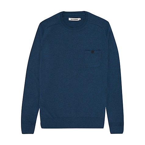 Buy Ben Sherman Crew Neck Chest Pocket Jumper Online at johnlewis.com