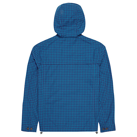 Buy Ben Sherman Check Lightweight Hood Jacket, Poseidon Online at johnlewis.com