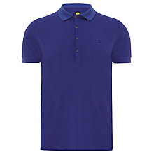 Buy Pretty Green Salcot Stripe Under Collar Polo Shirt Online at johnlewis.com
