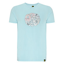 Buy Pretty Green Floral Logo Cotton T-Shirt Online at johnlewis.com
