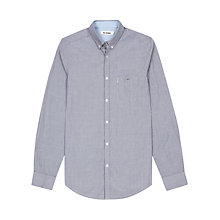 Buy Ben Sherman Core Long Sleeve Shirt, Smoked Pearl Online at johnlewis.com