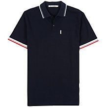 Buy Ben Sherman Contrast Trim Pique Polo Shirt Online at johnlewis.com