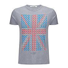 Buy Ben Sherman Collage Union Jack Graphic T-Shirt Online at johnlewis.com