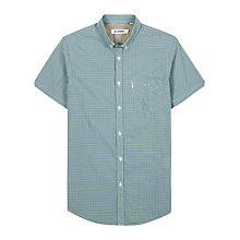 Buy Ben Sherman Check Short Sleeve Shirt Online at johnlewis.com